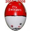 Till ARSENALs fotbollsägg 2007 - 2008