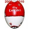 Till ARSENALs fotbollsägg 2009 - 2010