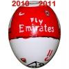 Till ARSENALs fotbollsägg 2010 - 2011