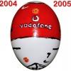 Till MANCHESTER UNITEDs fotbollsägg 2004 - 2005