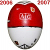 Till MANCHESTER UNITEDs fotbollsägg 2006 - 2007
