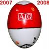 Till MANCHESTER UNITEDs fotbollsägg 2007 - 2008