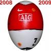 Till MANCHESTER UNITEDs fotbollsägg 2008 - 2009