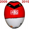 Till MANCHESTER UNITEDs fotbollsägg 2009 - 2010