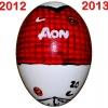 Till MANCHESTER UNITEDs fotbollsägg 2012 - 2013