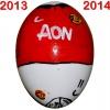 Till MANCHESTER UNITEDs fotbollsägg 2013 - 2014