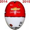 Till MANCHESTER UNITEDs fotbollsägg 2014 - 2015