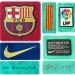 BARCELONAs bortatröja 2010 - 2011 detaljer