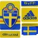 SVERIGEs förstatröja 2013 - 2015 detaljer