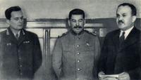 Tito, Stalin och Molotov