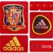 SPANIENs förstatröja i Sydafrika-VM 2010 detaljer