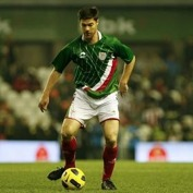 Xabi Alonso i Baskiens landslag