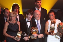 Ballon d'or vinnarna utom Mourinho