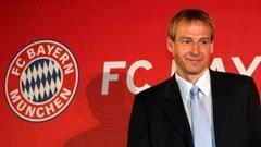 Klinsmann till Bayern München som ny manager