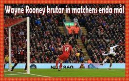 Rooney gör sitt 176:e mål för Manchester United, sätter rekord och fixar segern mot Liverpool