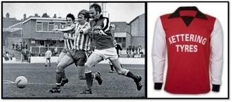 Första sponsrade tröjan i Englands historia