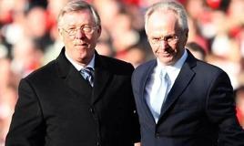 Sir Alex med mannen som var tänkt att ta över United.