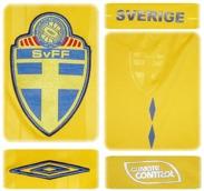 SVERIGEs förstatröja 2009 - 2010 detaljer