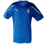 ITALIENs förstatröja i VM i Sydafrika 2010 framsida