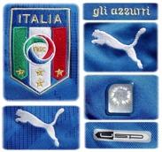 ITALIENs förstatröja i VM i Sydafrika 2010 detaljer