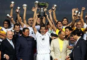 Irak tar sitt första mästerskap.
