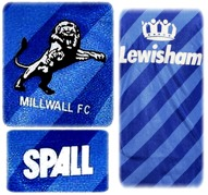 MILLWALLs förstatröja 1987 - 1989 detaljer