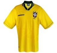 BRASILIENs förstatröja i VM i U S A 1994 framsida