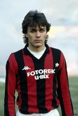 En 16-årig Paolo Maldini