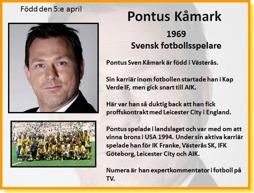 PONTUS KÅMARK
