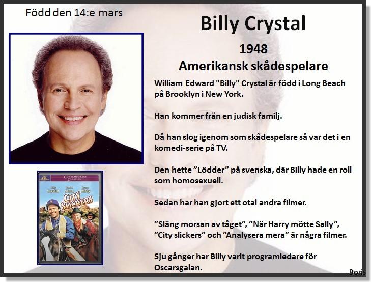 Billy crystal gor en svensk komediserie