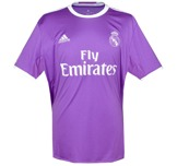 Real Madrid 1617 andra framsida