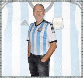 Dagens tröja: ARGENTINAs förstatröja i VM i Brasilien 2014