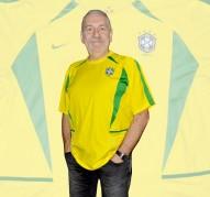 BRASILIENs förstatröja i VM i Japan/Sydkorea 2002 detaljer