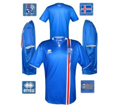 Till ISLANDs förstatröja i EM i Frankrike 2016