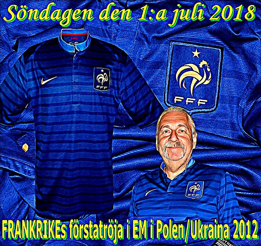 Söndagen den 1:a juli 2018 | fotbollströjor Boris Herbertsson