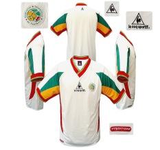 Till SENEGALs hemmatröja i Japan/Sydkorea-VM 2002