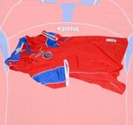 COSTA RICAs förstatröja i VM i Japan/Sydkorea 2002 sida