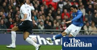 Första tävlingsmatch-målet på nya Wembley.