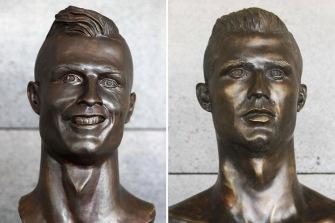 Originalet till vänster och den nya till höger.