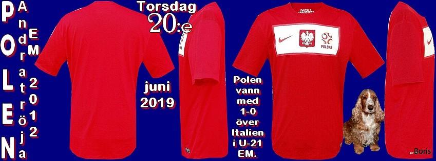 Torsdagen den 20:e juni 2019   fotbollströjor Boris