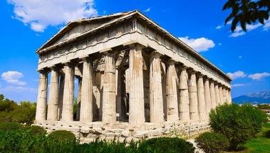 Hephaistos tempel i Agora