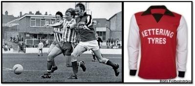 Första sponsrade matchtröjan i Englands fotbollshistoria