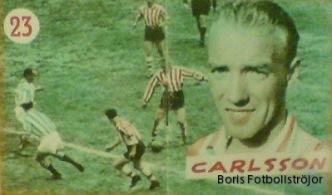 Garvis Carlsson, svenskt proffs i Atletico Madrid