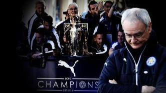 Claudio Ranieri får sparken som Leicesters manager.