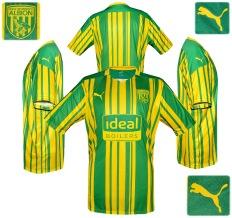 Till WEST BROMWICH ALBIONs förstatröja 2008 - 2009