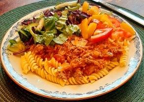 Bästa vardagsfärsen med pasta