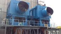 Montage av två 10MW ugnar.
