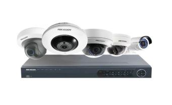 NOCAB Säkerhet AB installerar HikVision kameraövervakning på Pronto Kakel i Vellinge