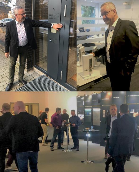 NOCAB Säkerhet AB installerar Siedle nyheter porttelefonsystem och passerkontroll