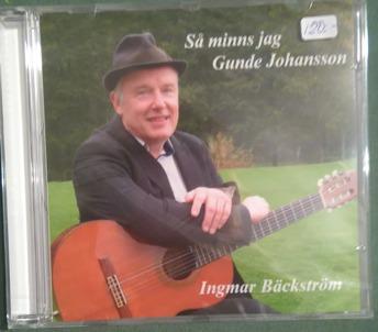 Ingmar Bäckström: Så minns jag Gunde Johansson